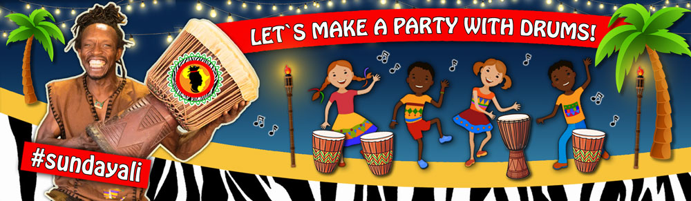 Let's make private parties with drums
