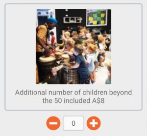 Additional number of children